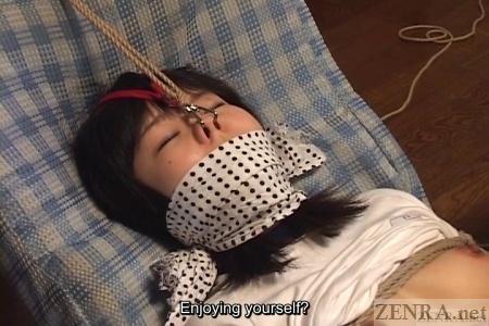 Extreme Japanese nose hooks with bandana