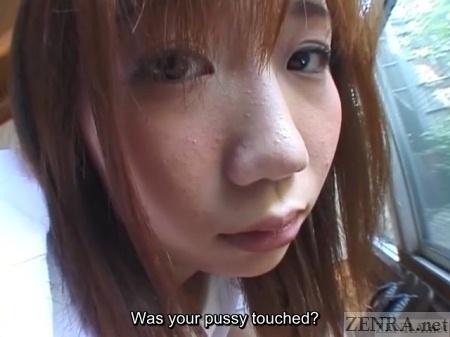 Momo Hayakawa student close up
