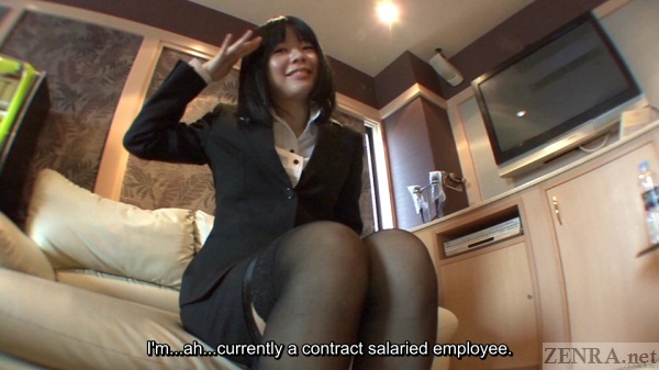 Japanese contract worker interview