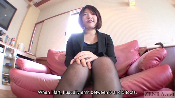 Japanese farting interview