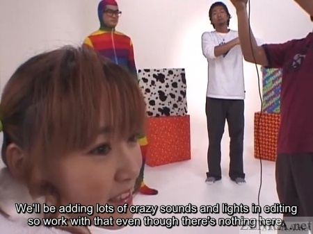 Japan AV studio behind the scenes bonus
