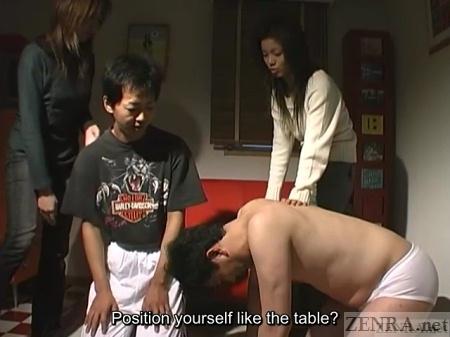 Maniac Japanese femdom