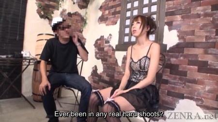 Japanese AV star interviewed