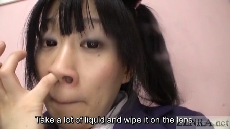 Yui Kyouno hunts for nose goblins