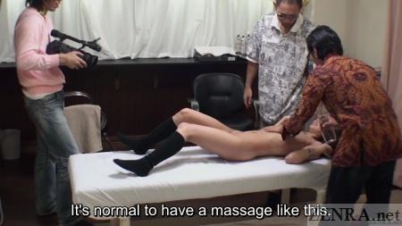 CMNF ENF Japanese woman at salon
