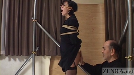 Agony of elise graves in facial humiliation and extreme whip 5