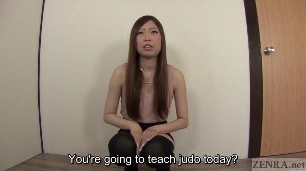 Japanese judo amateur interview
