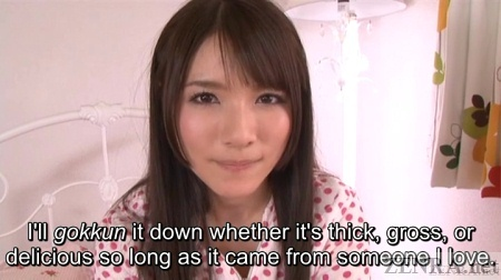 Subtitled japanese gokkun swallowing party with chigusa hara 3