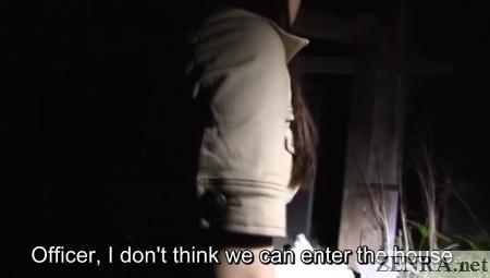 Japanese AV ghost investigation at haunted house