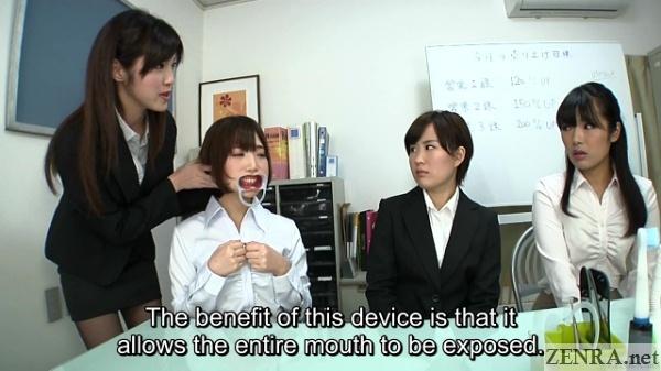 Dental interview in Japan