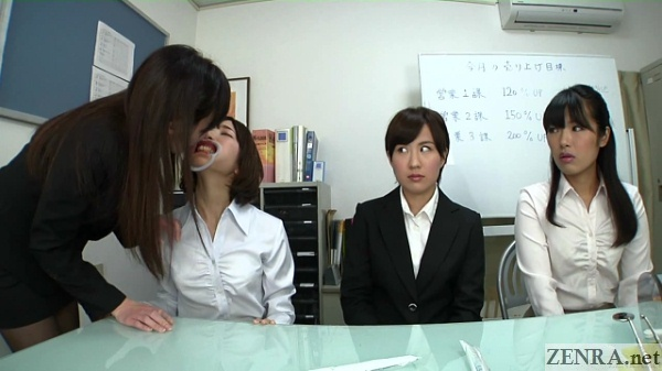 Bizarre Japanese dental demonstration
