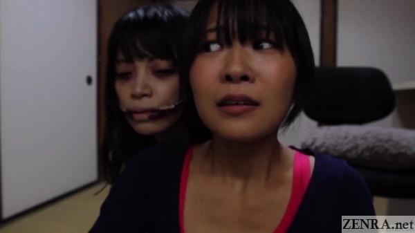 Kuchisake Onna meets Saya Takazawa