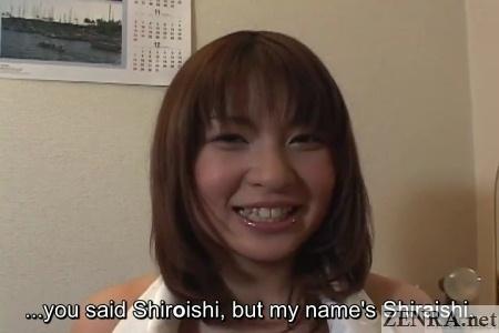 Smiling Hiyori Shiraishi