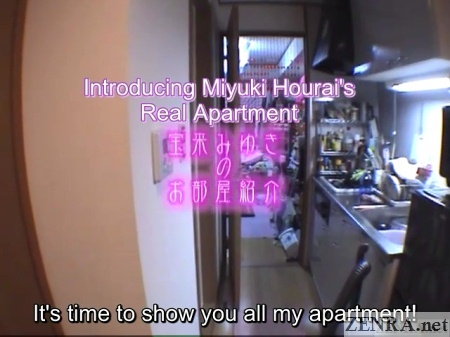 Real Japanese AV star apartment