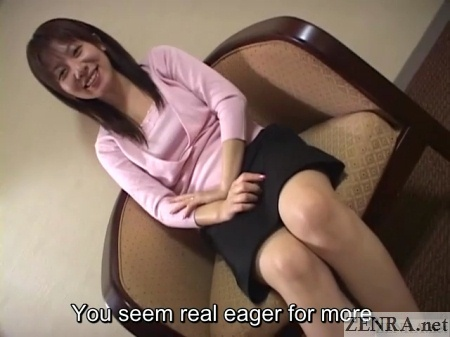 AV interview with real Japanese wife