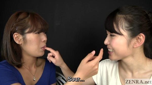japanese women taste snot
