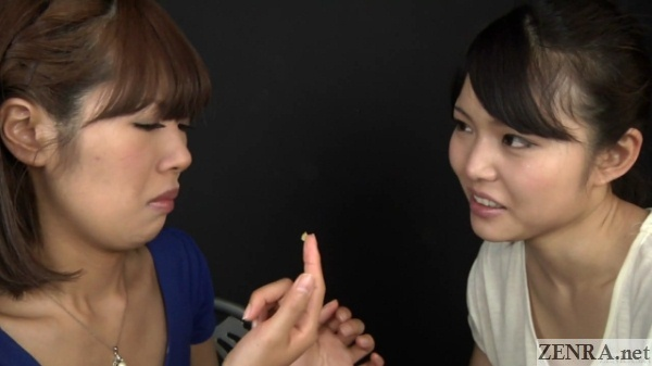 japanese women eat each others boogers