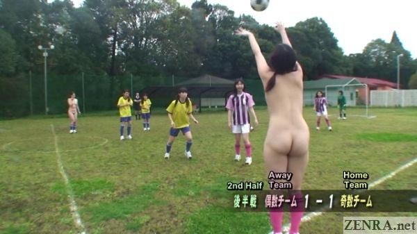 japanese all naked soccer match