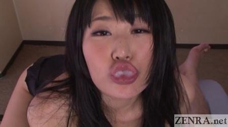 japanese duck face for gokkun