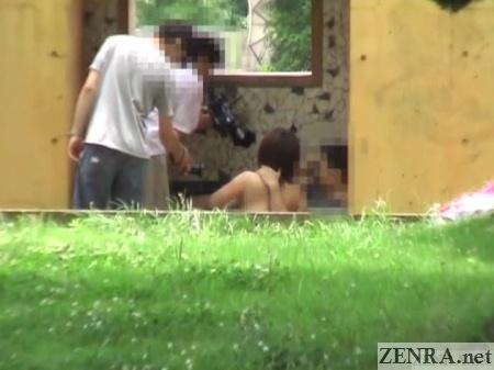 outside fellatio in japan