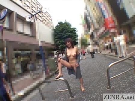 japanese nudist leg raised