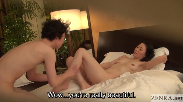 naked pale masseuse with aroused client