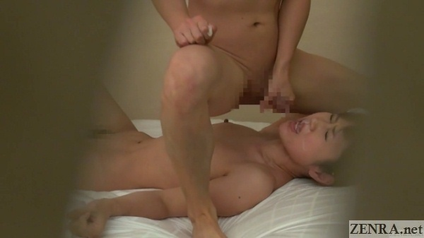facial cumshot after japanese massage