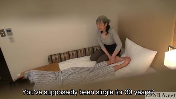 foot massage by bbw japanese masseuse