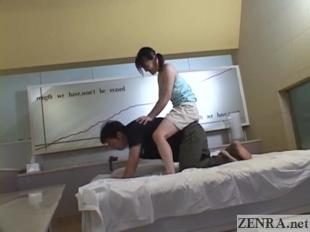 japanese schoolgirl piggyback ride
