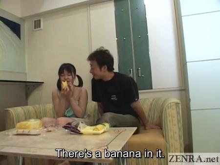 japanese teen eats cake