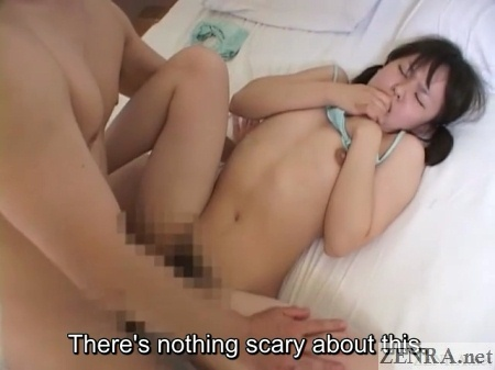 spread eagle missionary sex with japanese teen
