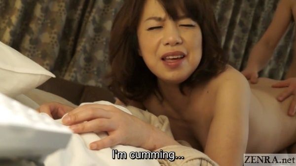 japanese mature masseuse has orgasm