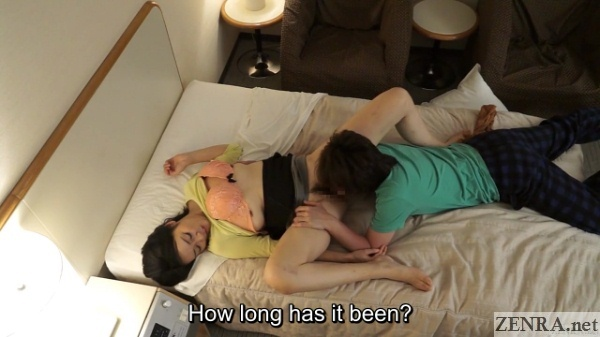japanese masseuse receives cunnilingus
