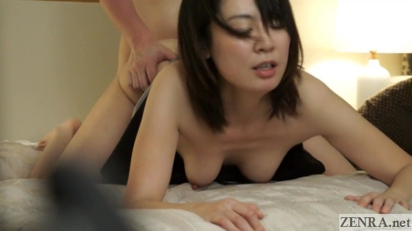 big breasts swaying during rear sex
