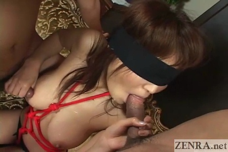 no mosaic blindfolded fellatio by matsuzaka juri