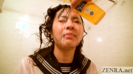 face wash for japanese schoolgirl