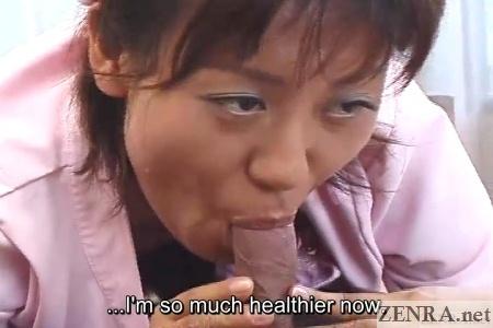 uncensored blowjob by japanese nurse