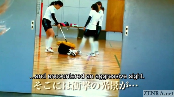 japanese female volleyball team hazing
