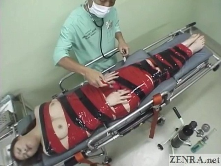 japanese woman mummified for doctor