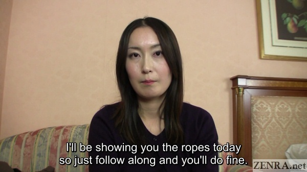 gravure model interview with japanese amateur