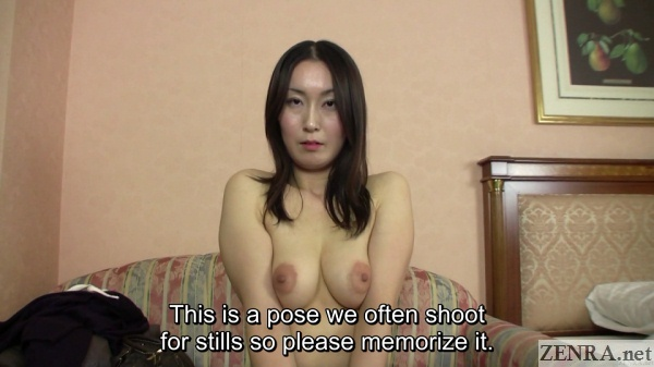 pale older japanese amateur topless