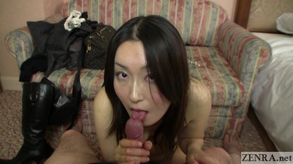 pov uncensored japanese blowjob in love hotel