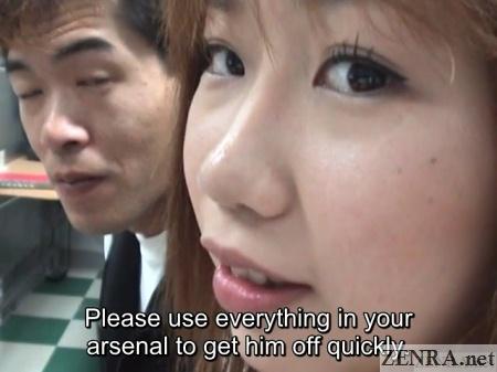 japanese internet cafe blowjob challenge
