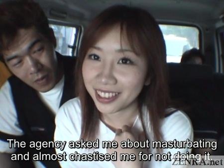 hayakawa momo masturbation talk in van