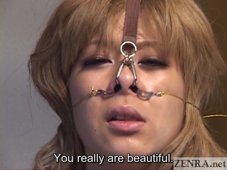 beautiful gyaru double nose hooks