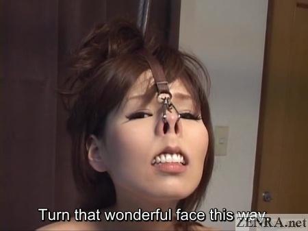 tanbikai beautiful nose torture