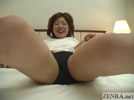short bloomers tickling of japanese woman
