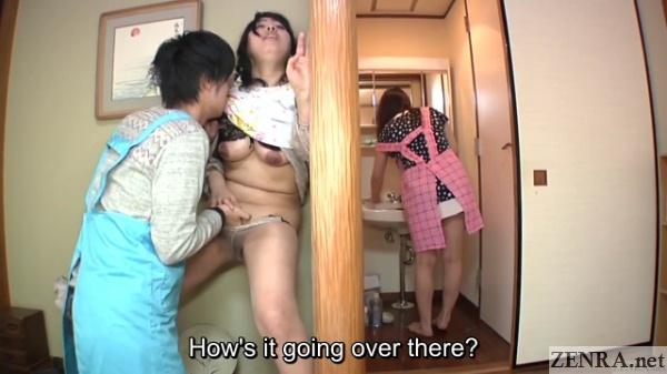 japanese milf stripped in secret
