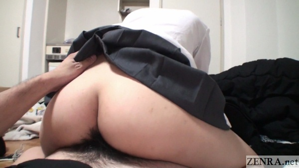 reverse cowgirl sex butt buried in crotch