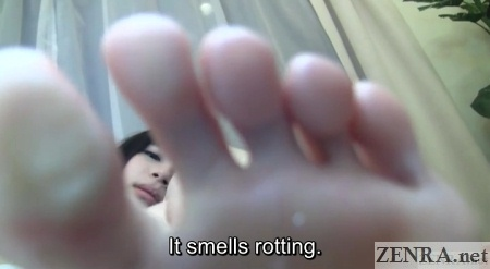 smelly feet japanese av
